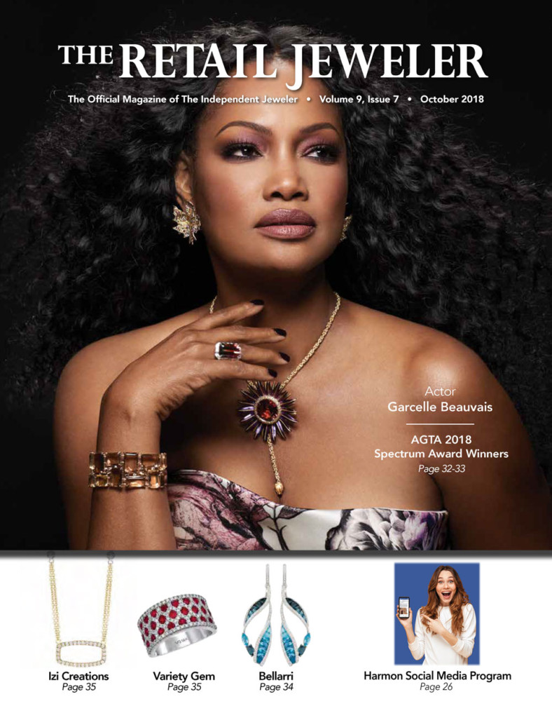 Featured in Retail Jeweler Magazine